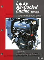 Large Air-Cooled Engines 1989-2000 Service Manual