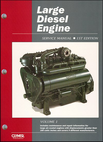 large diesel engine service and repair manual by intertec clymer rh themotorbookstore com Cummins Diesel Engines Cummins Diesel Engines