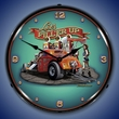 Lets Filler Up Wall Clock, Lighted: Larry Grossman Art