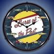 Lures of The Past Wall Clock, Lighted