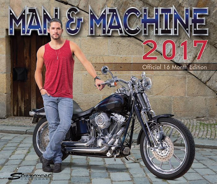Man & Machine 2017 Calendar