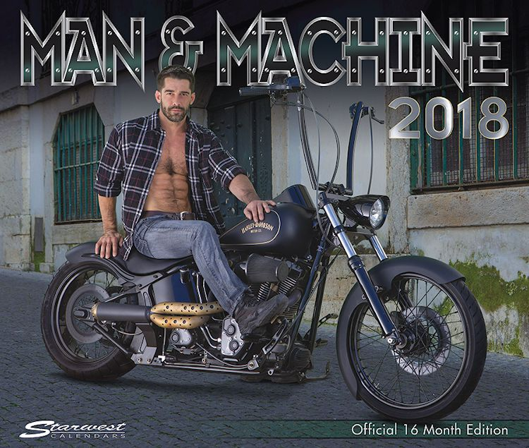 Man & Machine 2018 Calendar