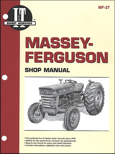 Massey-Ferguson Repair Manual MF135, MF150, MF165