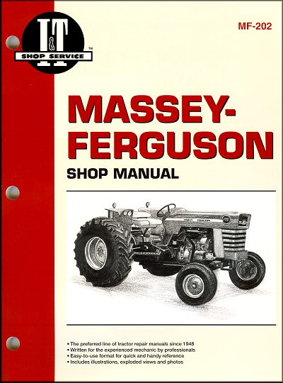 Massey-Ferguson Repair Manual MF175, MF180, MF205, MF210, MF220, MF2675, MF2705, MF2745, MF2775, MF2805