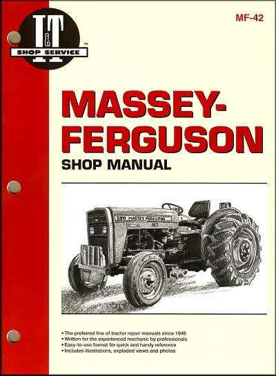 Massey-Ferguson Repair Manual MF230, MF235, MF240, MF245, MF250