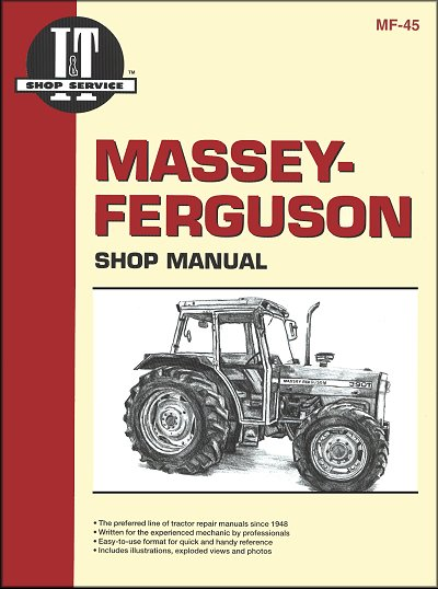 Massey-Ferguson Repair Manual MF362, MF365, MF375, MF383, MF390, MF390T, MF398