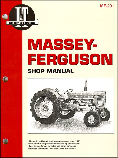 Massey-Ferguson Repair Manual MF65, 85, 88, 1100, 1130, 1150, 1105, 1135, 1155, 1080, 1085
