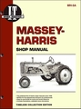 Massey-Harris Repair Manual 21 Colt, 23 Mustang, 33, 44 Special, 55, 555