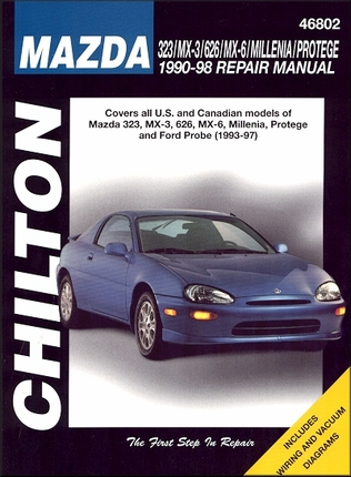 Mazda 323, MX-3, 626, MX-6, Millenia, Protege 1990-1998; Ford Probe 1993-1997 Repair Manual