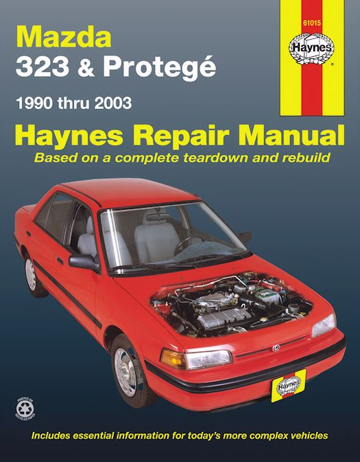 Mazda 323 Mazda Protege Repair Manual 1990 2003 Haynes 61015
