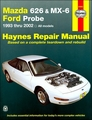 Mazda 626, MX-6, Ford Probe Repair Manual 1993-2002