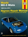 Mazda MX-5 Miata Repair Manual 1990-2014