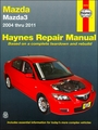 Mazda3 Haynes Repair Manual 2004-2011