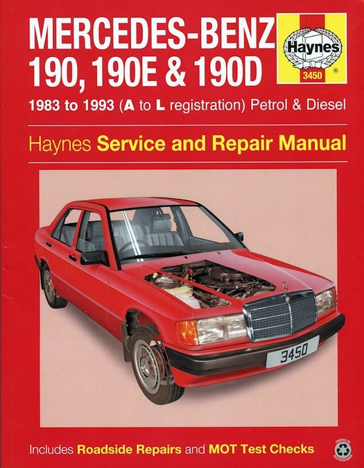 mercedes benz 190 190e 190d repair manual 1983 1993 haynes 3450 rh themotorbookstore com Custom 1985 Mercedes 190D 1985 Mercedes 190D MPG