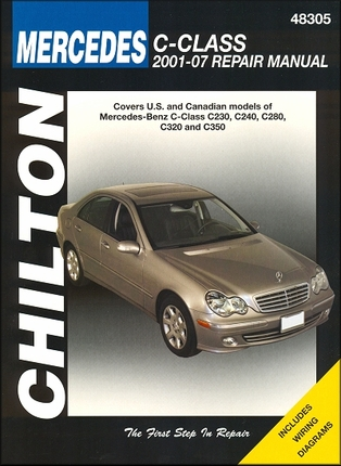 Mercedes benz c230 c240 c280 c320 c350 2001 2007 for Mercedes benz c class owners manual