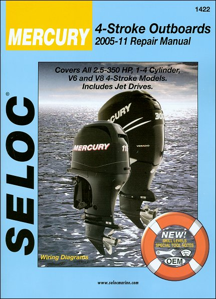 Mercury 2 5-350 HP Outboards Repair Manual 2005-2011 | Seloc