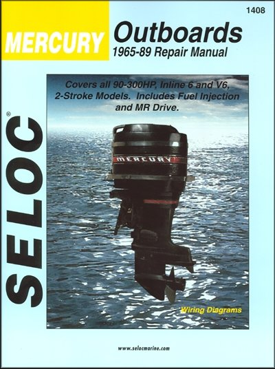 mercury repair manual 90 300 hp 2 stroke outboards 1965 1989. Black Bedroom Furniture Sets. Home Design Ideas