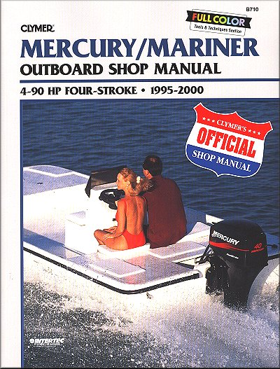 mercury mariner 4 hp to 90 hp outboard repair manual 1995 2000 rh themotorbookstore com Mercury 90 HP 2 Stroke Mercury 90 HP Prop