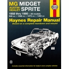 MG Midget, Austin-Healey Sprite Repair Manual 1958-1980