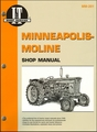 Minneapolis-Moline Tractor Repair Manual: GTA, GTB, RT, UT, ZA, ZT, BF, BG, V, Avery, etc.