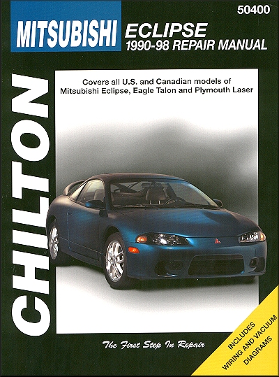 eclipse, talon, laser repair manual 1990 1998 chilton 50400 Volvo 240 Wiring Diagram mitsubishi eclipse repair manual 1990 1998