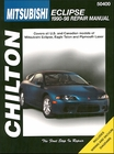 Mitsubishi Eclipse, Eagle Talon, Plymouth Laser Repair Manual 1990-1998