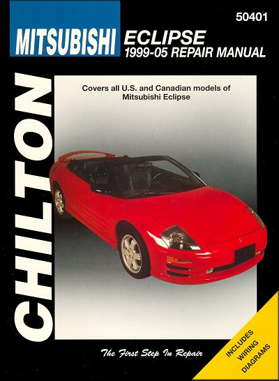 mitsubishi eclipse repair manual