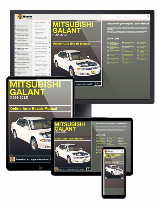 1999 mitsubishi galant service manuals 3 volume set