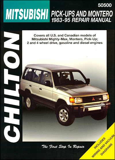 mitsubishi mighty max montero repair manual 1983 1995 chilton rh themotorbookstore com 1995 mitsubishi mighty max repair manual free download mitsubishi mighty max repair manual