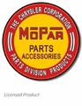 """MOPAR Parts Accessories\"" Tin Sign"