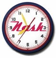 Nash Motors Neon Clock, High Quality, 20 Inch