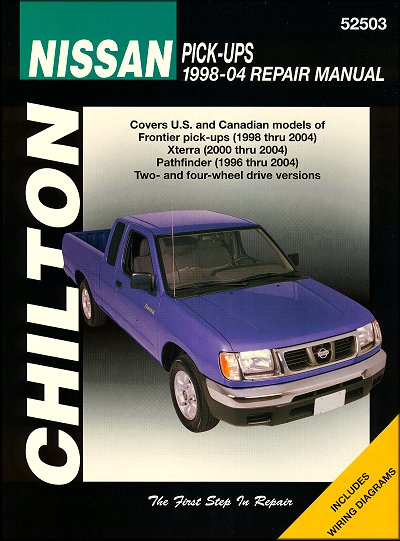 2004 nissan frontier manual pdf