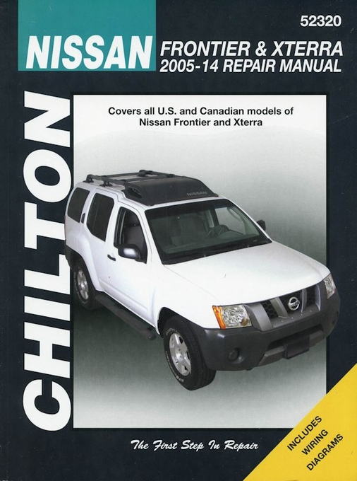 nissan xterra manuals