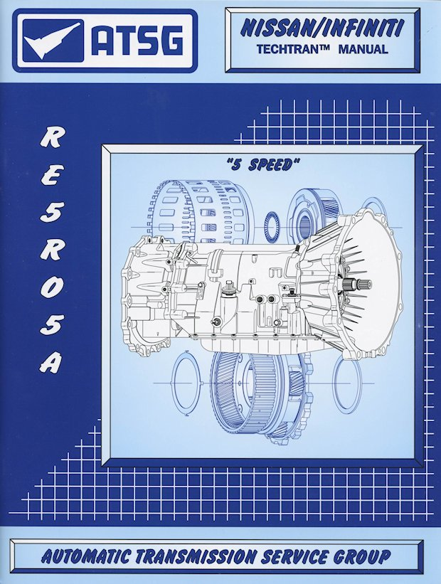 nissan infiniti re5r05a transmission repair manual 2002 2016 rh themotorbookstore com Nissan Standard Transmission Parts Nissan Transmission Repair Manual