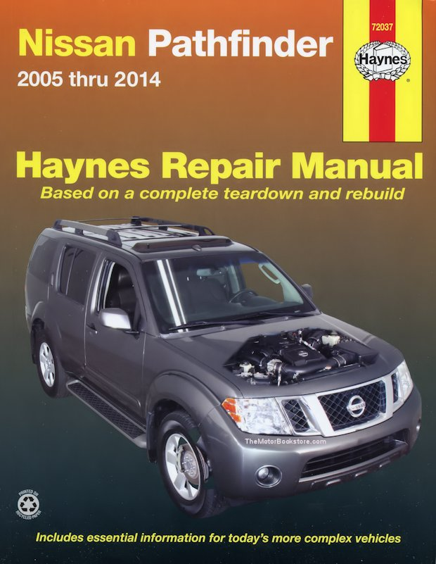 nissan pathfinder repair manual 2005 2014 haynes 72037 rh themotorbookstore com 2000 nissan pathfinder manual pdf 2000 nissan pathfinder manual pdf