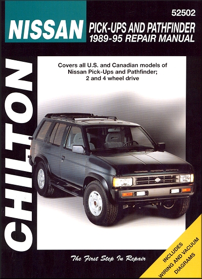 nissan truck pathfinder repair shop manual 1989 1995 chilton rh themotorbookstore com 1995 nissan pickup owners manual 1995 nissan pickup repair manual