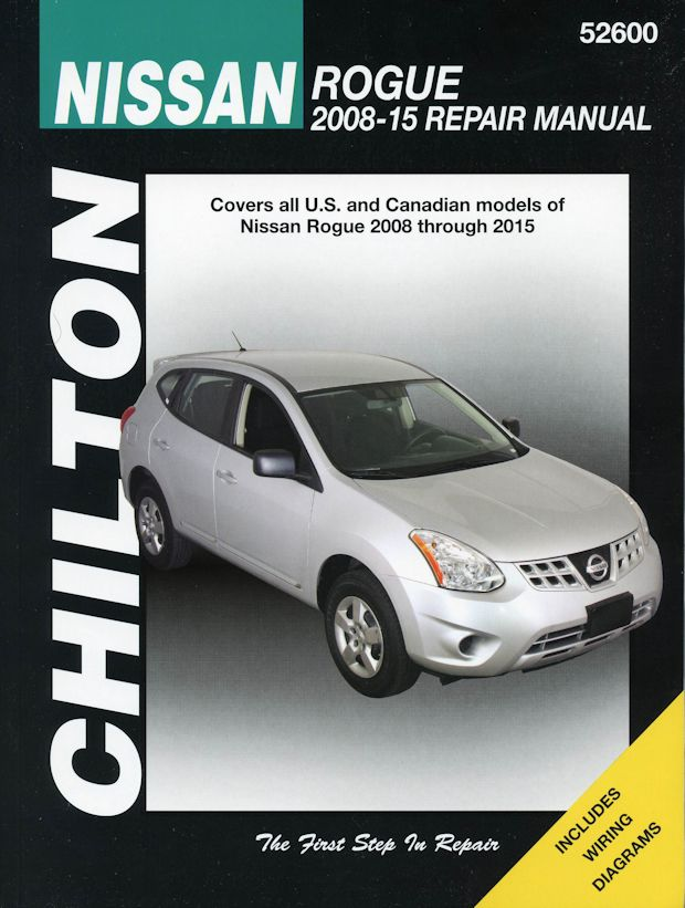 nissan rogue chilton repair manual 2008 2015 the motor bookstore rh themotorbookstore com 2008 nissan rogue repair manual 2008 nissan rogue user manual