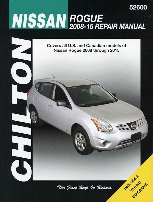 nissan rogue chilton repair manual 2008 2015 the motor bookstore rh themotorbookstore com 2010 nissan rogue service maintenance guide 2010 nissan rogue user manual