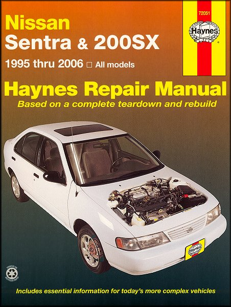 Nissan Sentra, 200SX Repair Manual 1995-2006