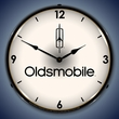Oldsmobile Wall Clock, LED Lighted