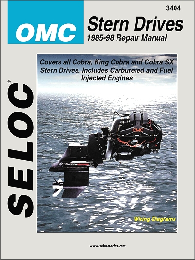 omc stern drive repair manual ford gm engines 1986 1998 seloc rh themotorbookstore com OMC Sterndrive Parts OMC Sterndrive 800
