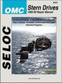 OMC Stern Drive Repair Manual 1986-1998 All Engines and Drive Systems