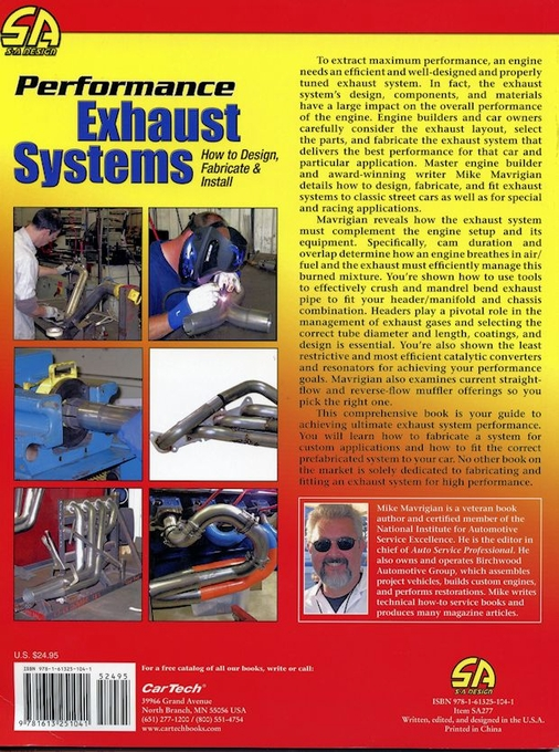 Performance Exhaust Systems: How to Design, Fabricate & Install