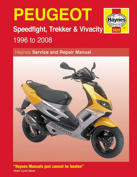 manual peugeot speedfight 50cc