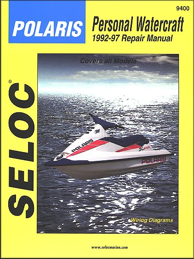 Polaris 650-900 PWC Repair Manual 1992-1997
