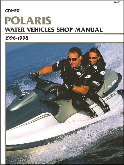 Polaris 700-1050 PWC Repair Manual 1996-1998