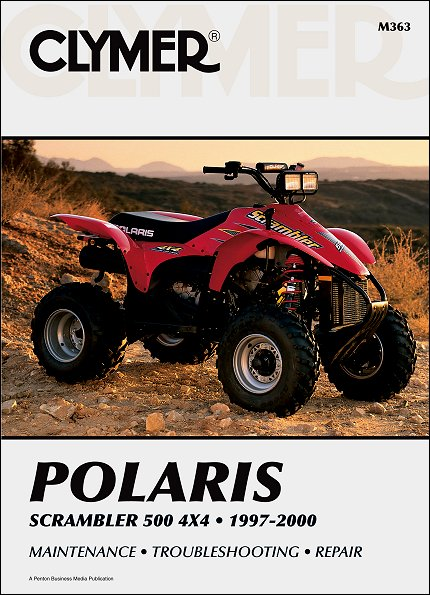 polaris scrambler 500 4x4 atv repair manual 1997 2000 clymer rh themotorbookstore com chinese atv repair manual chinese atv repair manual