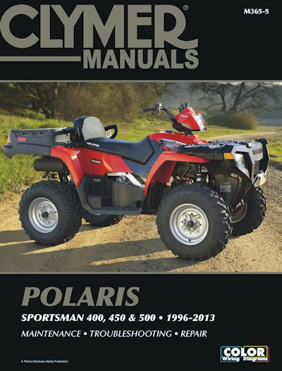 polaris sportsman atv repair manual 1996 2013 400 450 500 models rh themotorbookstore com chinese atv repair manual atv repair manual download
