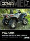 Polaris Sportsman 600, 700, 800 Repair Manual 2002-2010