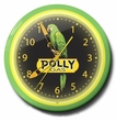 Polly Gas Neon Clock: High Quality, 20 Inches